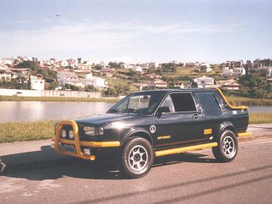SAVEIRO CABINE DUPLA DIESEL - 1985